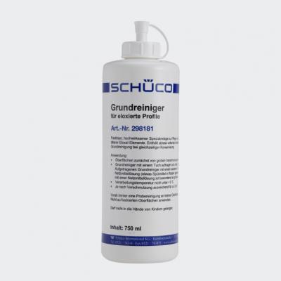 Grundreiniger für eloxierte Aluminium-Elemente