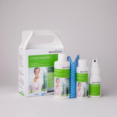 Schüco Pflegeset für weiße Kunststoff-Elemente
