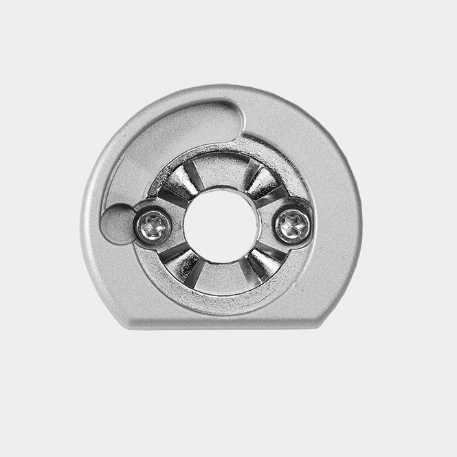 RC Befestigungsrosette Silber | Links