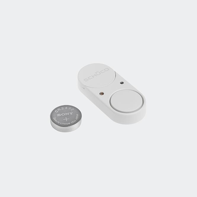 Schüco SoundGuard Glasbruchmelder Weiß