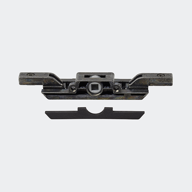 Kammergetriebe + Adapter