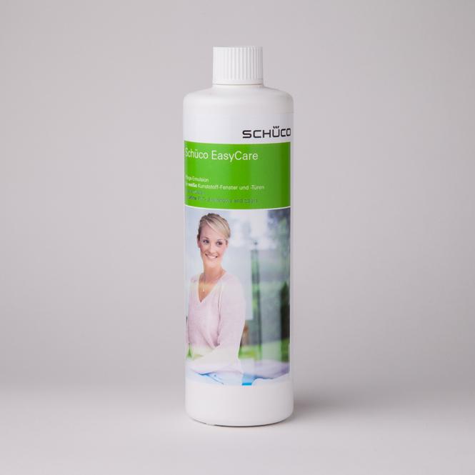 Schüco Pflegeemulsion für weiße Kunststoff-Elemente