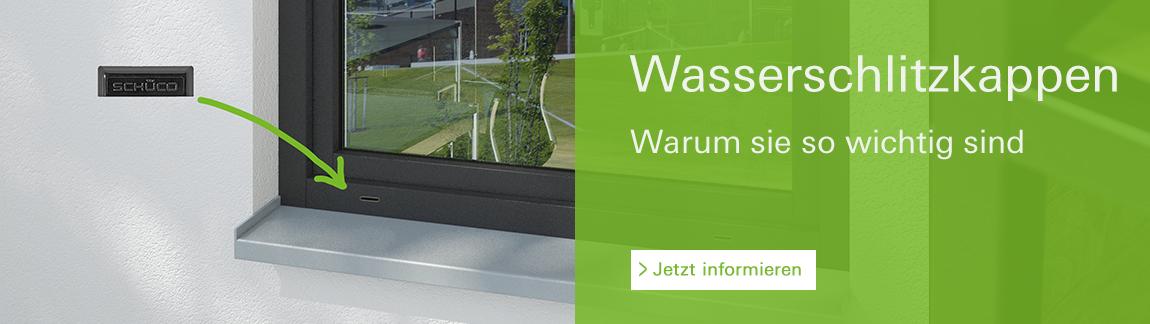 Banner Wasserschlitzkappen